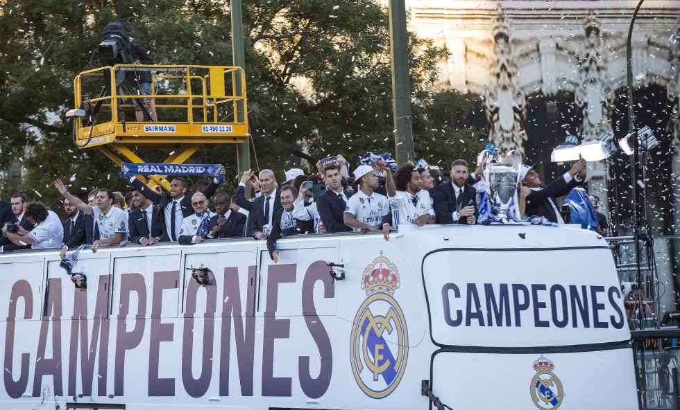 Real Madrid campeón Champions League: Madrid celebra la duodécima y paraliza la capital española
