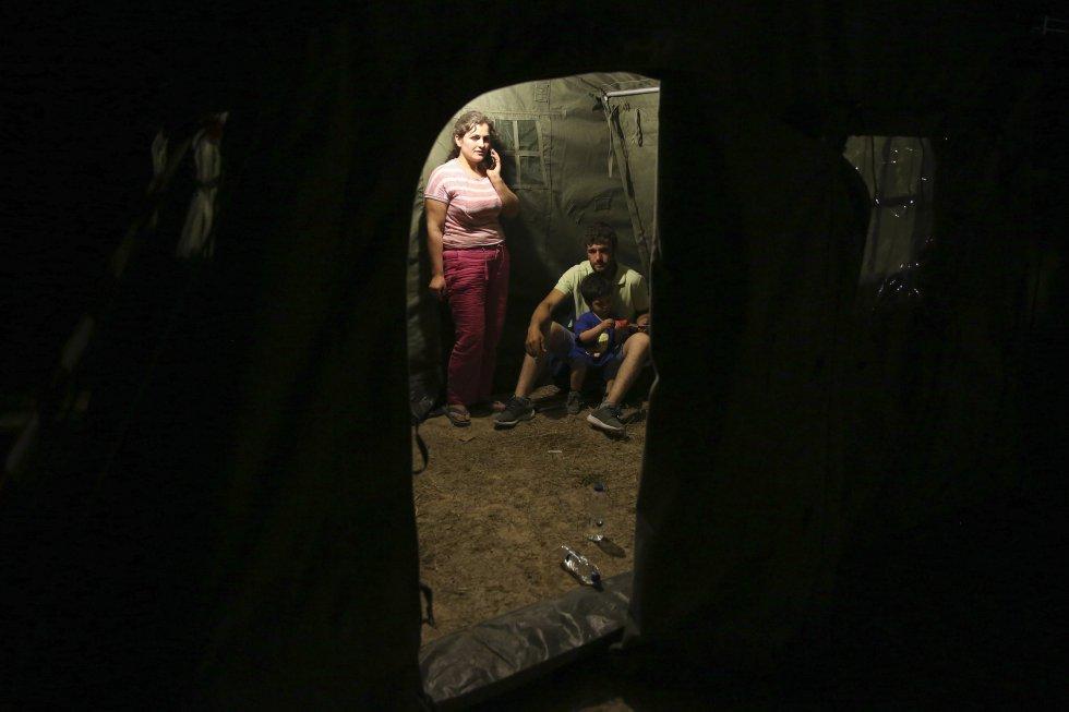 Vrisa, Plomari y más de diez pueblos en sus alrededores sufrieron daños muy importantes.