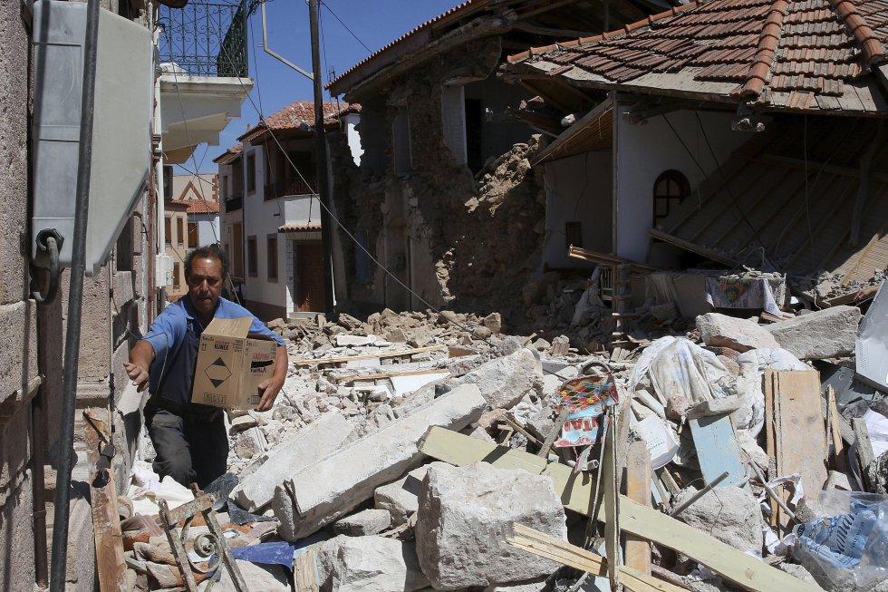 Una consecuencia del terremoto de ayer será el incremento de la distancia entre las islas de Lesbos y de Quíos, que aumenta un centímetro al año.