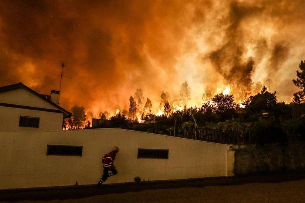 El último balance, difundido por el secretario de Estado de Administración Interna, João Gomes, cifra en 62 los muertos y 57 los heridos, seis de ellos graves, como consecuencia del fuego declarado en el término municipal de Pedrogão Grande.