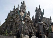 El castillo de Hogwarts cobra vida en Hollywood