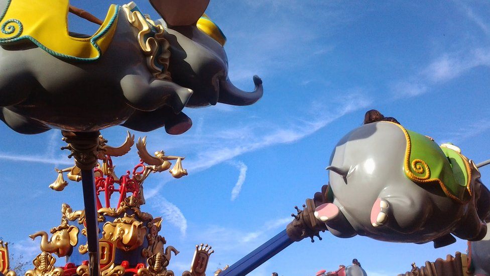 """El reto fotográfico de esta semana era """"Parque de Atracciones"""" y Mery Romero respondió con esta imagen de un verdadero clásico: Disneyworld. La foto, enviada por correo electrónico, fue capturada durante un viaje a Florida en 2014."""