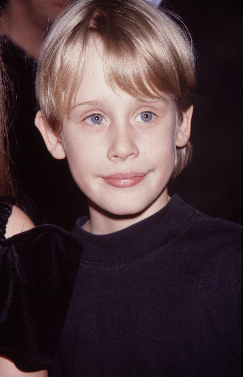 Macaulay Culkin  en su infancia.