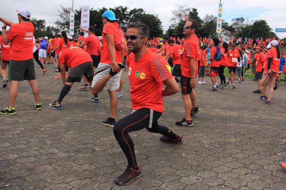 Se realizó la XVIII versión del Medio Maratón de Bogotá.