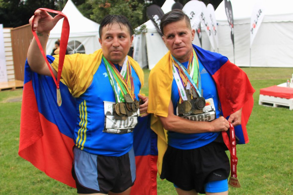 Participaron personas de distintas partes de Colombia, como también distintos extranjeros se hicieron presentes