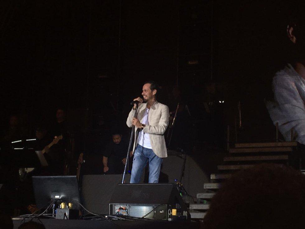 Cerca de 10 mil oyentes de Tropicana, emisora de Caracol Radio, disfrutaron las canciones del cantante puertorriqueño.