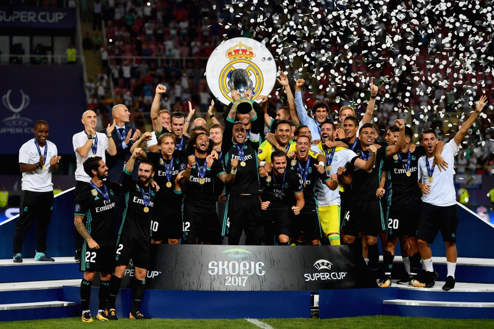 Supercopa de Europa: Real Madrid consigue su cuarta Supercopa de Europa