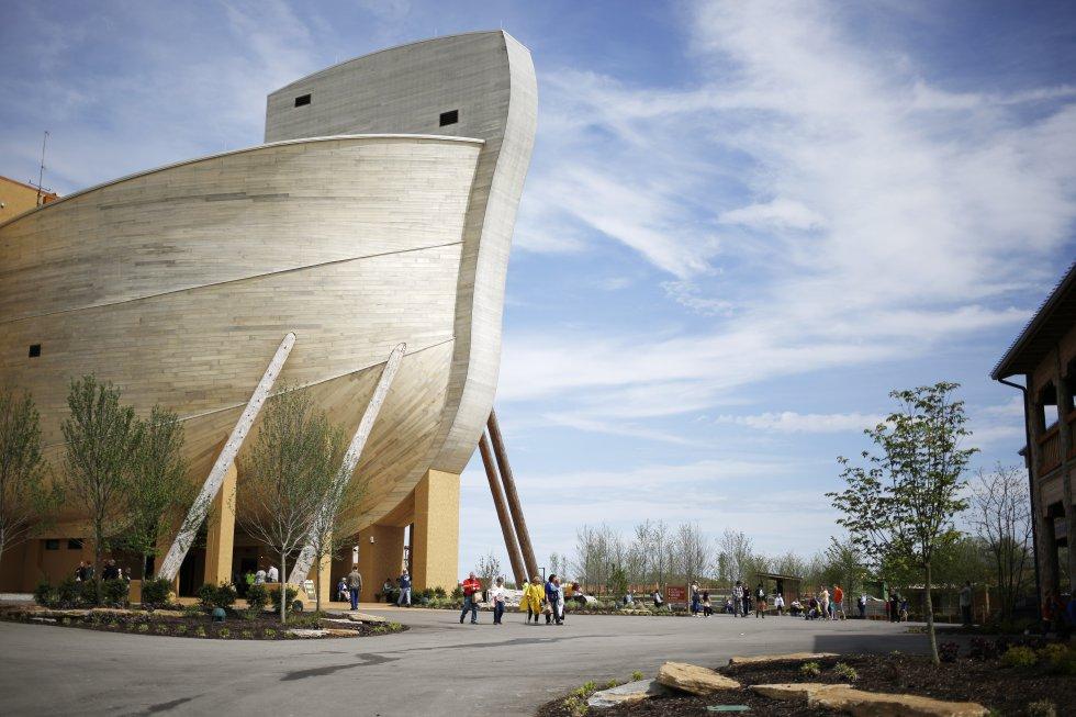 El pastor Joe Owen creó una réplica a gran escala del arca en el norte de Kentucky.