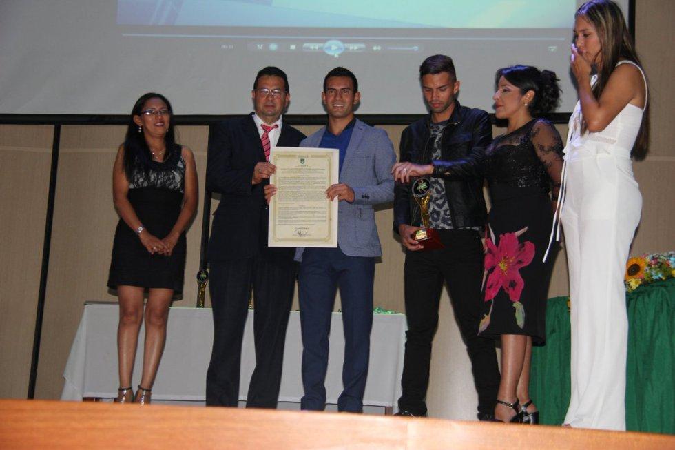 En 2016, fue reconocido como uno de los mejores atletas en Huila.