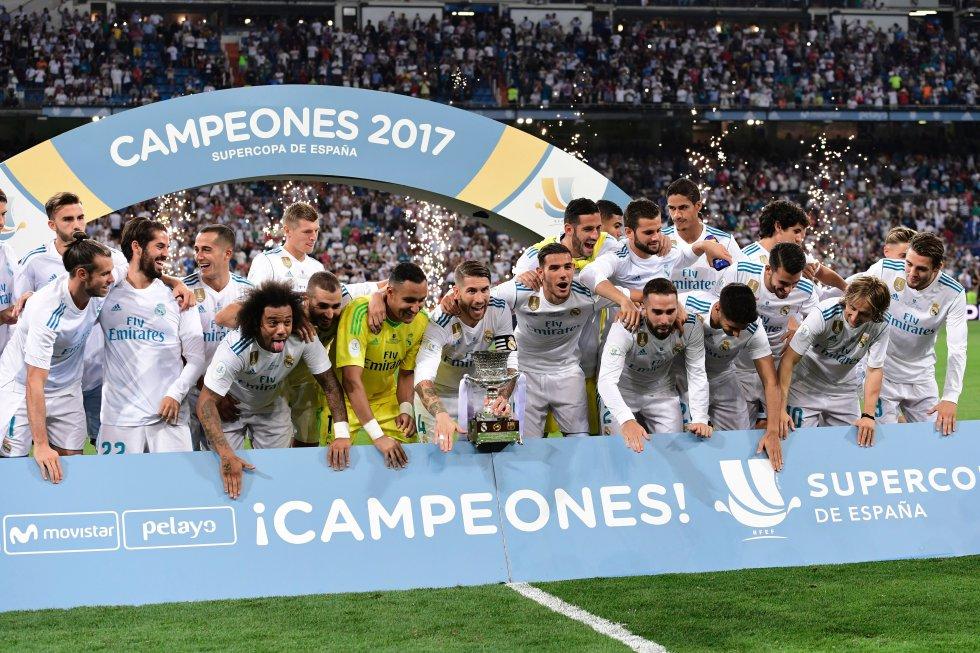 Fotogalería Real Madrid Supercopa de España: Lo mejor del título del Real Madrid en la Supercopa de España