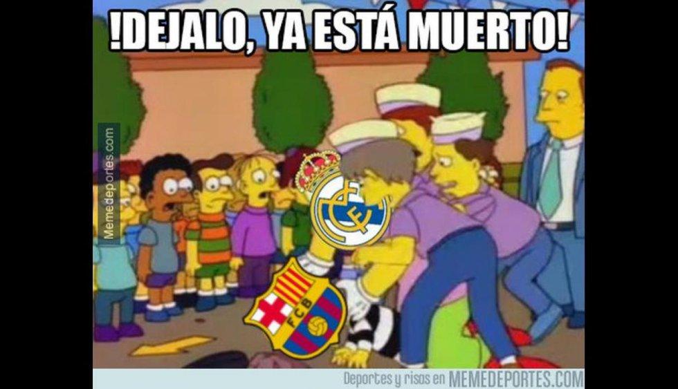 Repase los mejores memes que dejó el clásico español