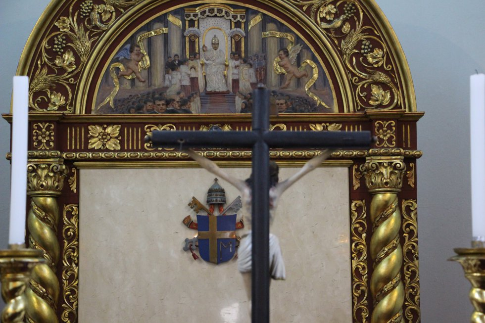 Fotos de la capilla de la nunciatura, la casa del papa en Colombia: [Fotos] Aquí orará el papa en las madrugadas colombianas