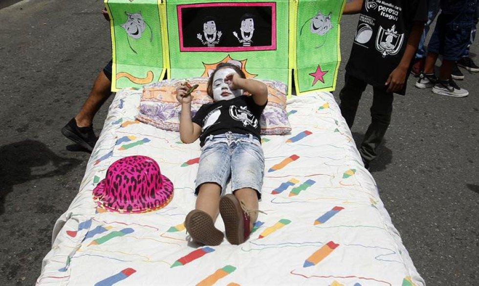En el concurso se premia las mejores camas y pijamas.