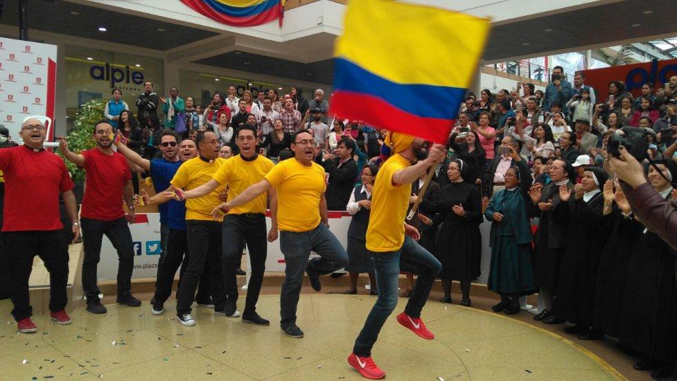 El grupo musical estará el 7 de Septiembre en el parque Simón Bolívar de Bogotá, interpretando en vivo la canción.