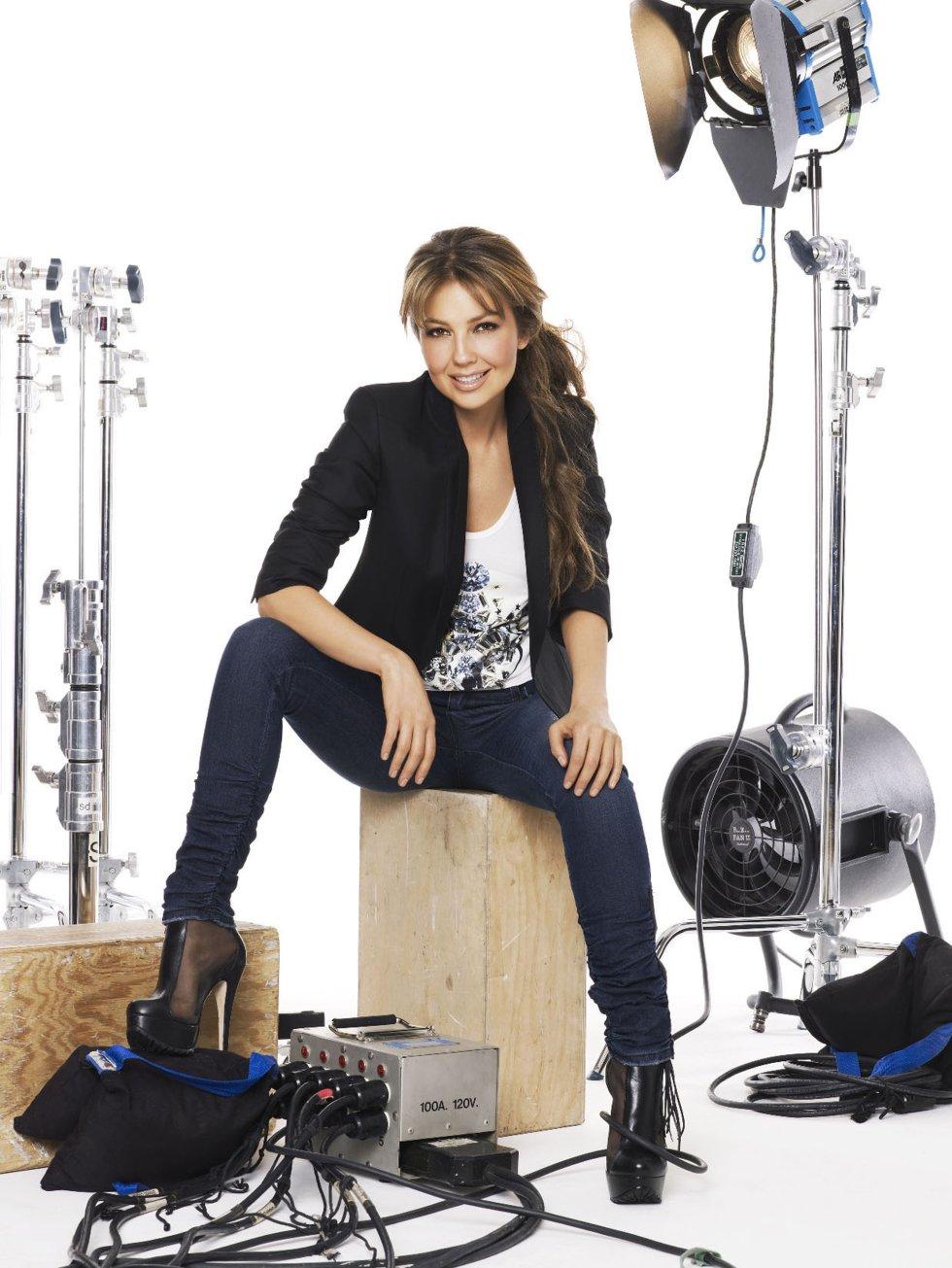 En su trayectoria como actriz, Thalía ha participado en siete telenovelas, dos películas, una obra de teatro.