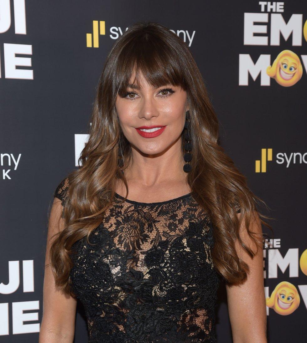 Sofía Vergara la presentó en su Instagram, mostrando momentos de la grabación de una escena de la serie.