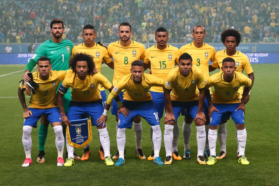 Selección brasileña de fútbol, clasificado desde marzo del 2017 al Mundial Rusia 2018