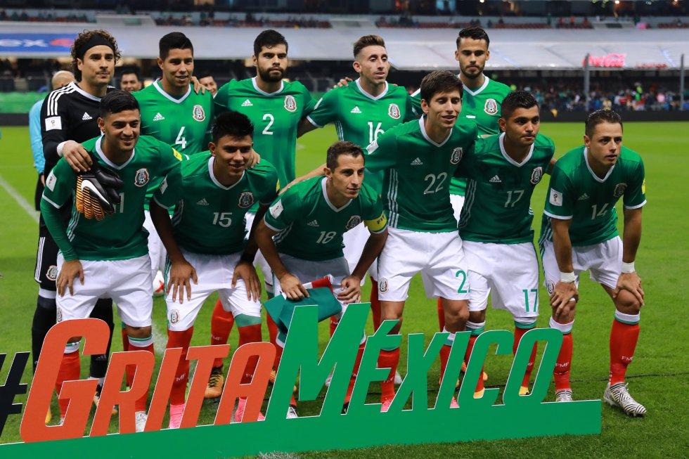 Selección mexicana de fútbol. Clasificado desde el septiembre del 2017 al Mundial Rusia 2018