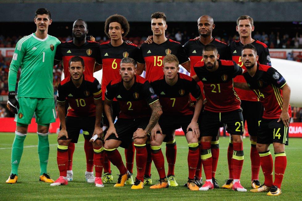 Con la dirección técnica del español Roberto Martínez, Bélgica aseguró su cupo al mundial.