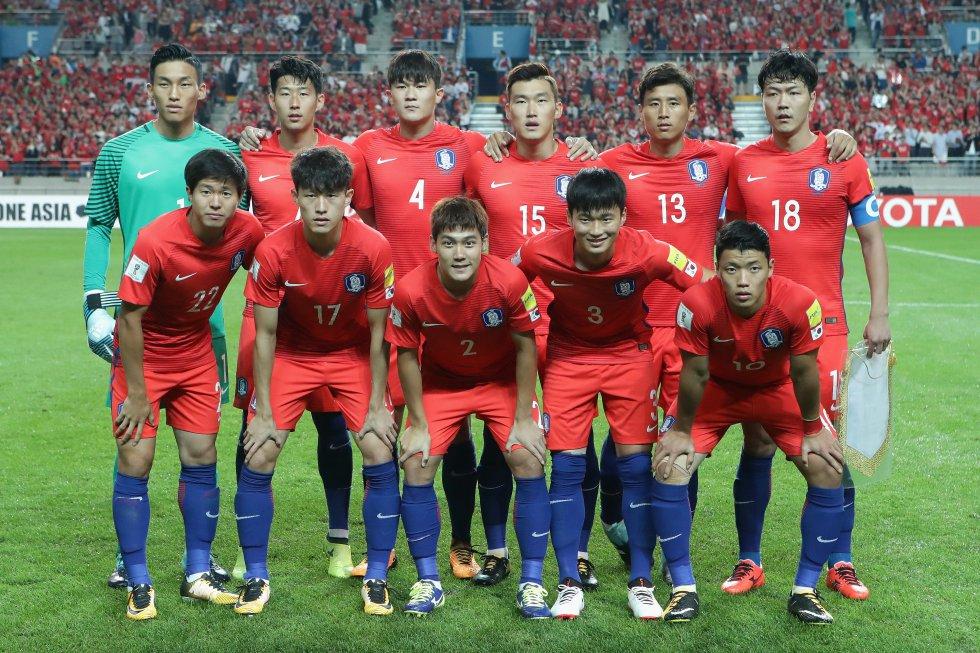 Corea del Sur es uno de los equipos asiáticos con tiquete asegurado para Rusia.