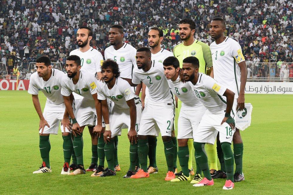 Arabia Saudita, el último de los 8 equipos que aseguró su presencia en el mundial.