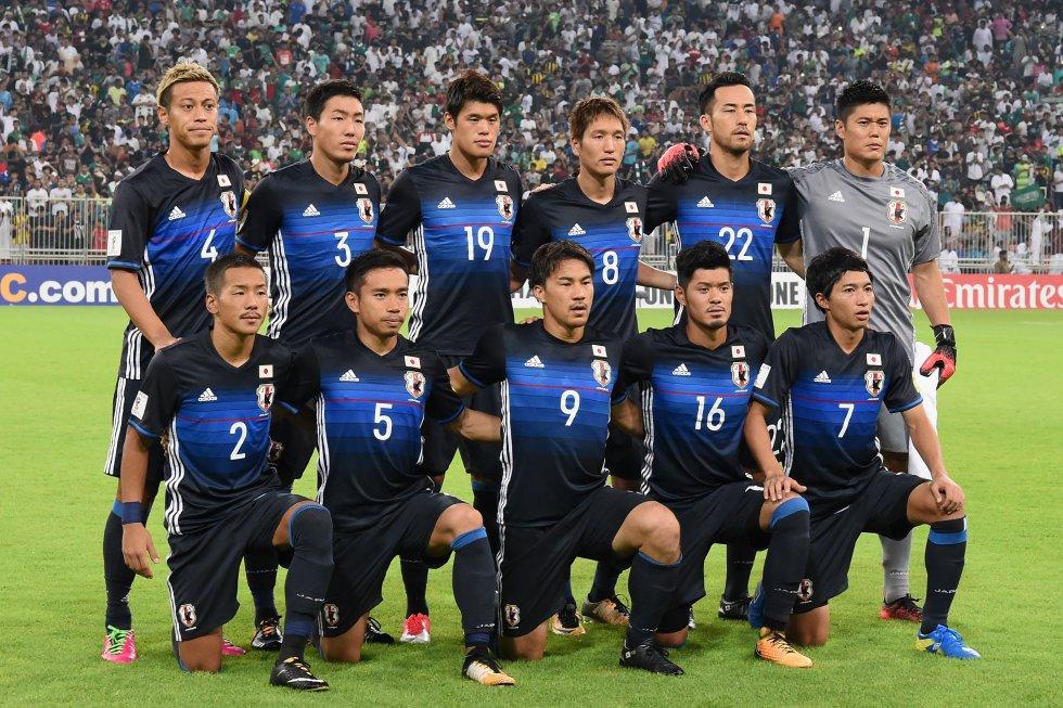 La Selección de Japón fue el primer equipo asiático en confirmar su cupo en la Copa mundial.
