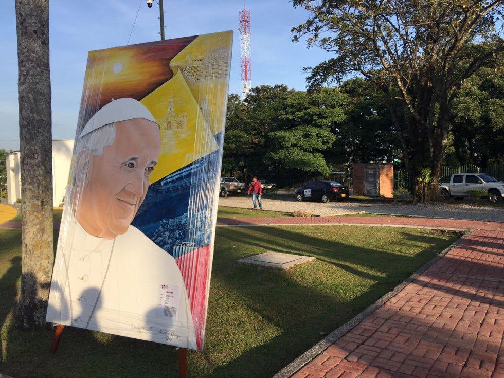 En este lugar el papa se reunirá con 700 niños con enfermedades terminales.