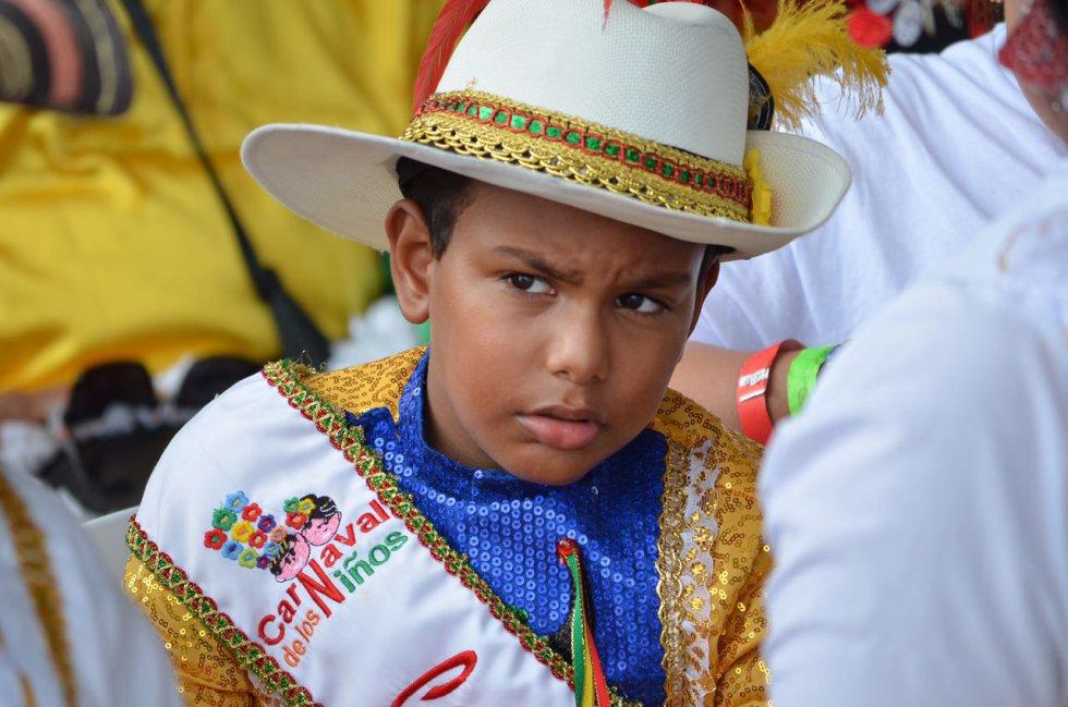 Los niños, como en los diferentes actos en los que participo el sumo pontífice, también tuvieron protagonismo.