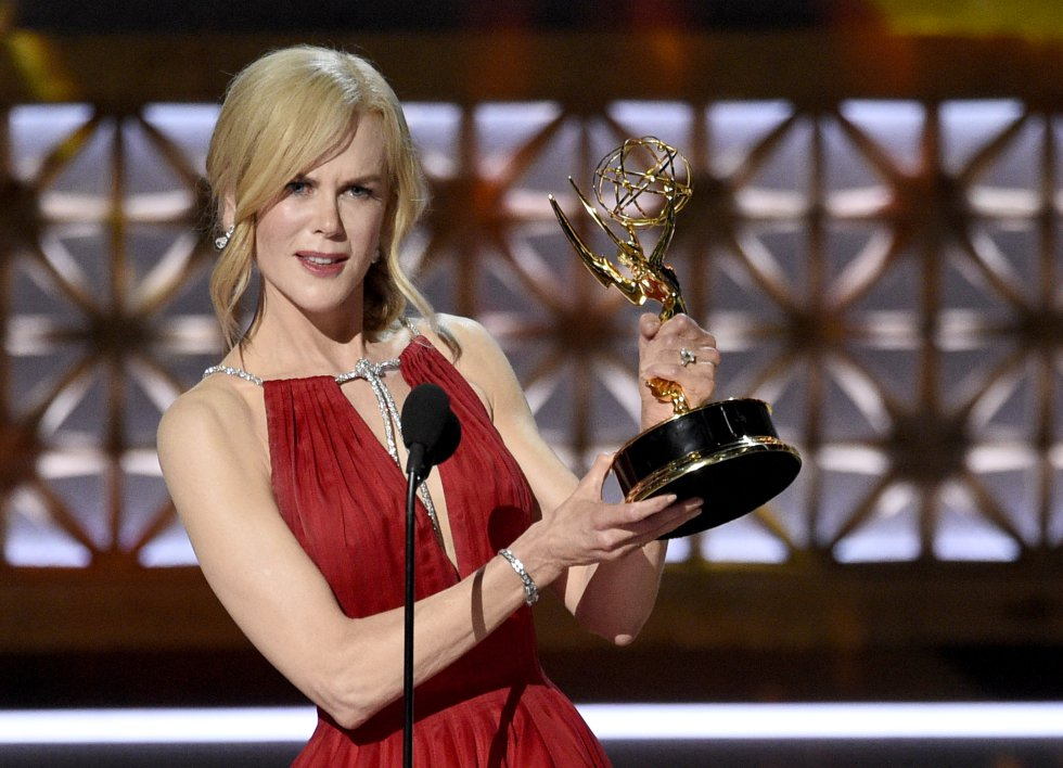 Nicole Kidman gana el premio como actriz de miniserie con Big Little Lies