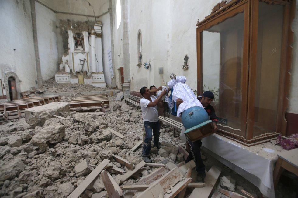 Terremoto en México, sismos, rescate: [Fotos] Continúan las labores de rescate en Ciudad de México