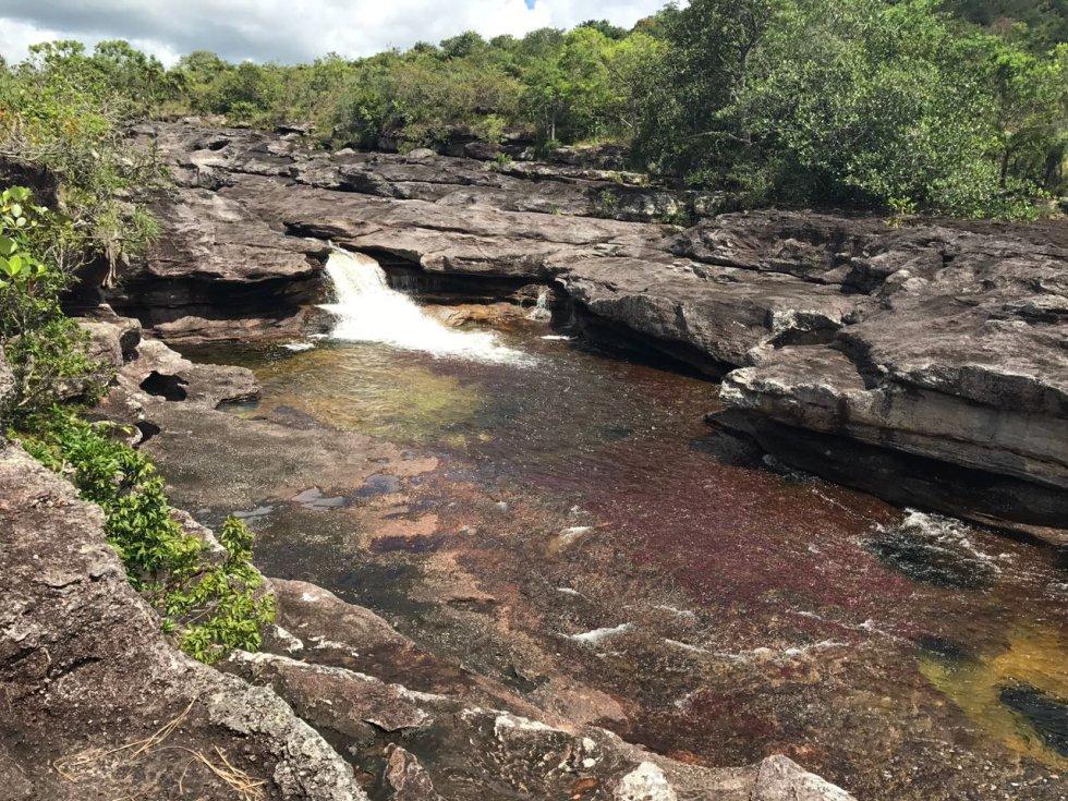 Desde 2013 Caño Cristales es destino turístico internacional. Antes su acceso era prácticamente imposible por la presencia de frentes de las Farc.