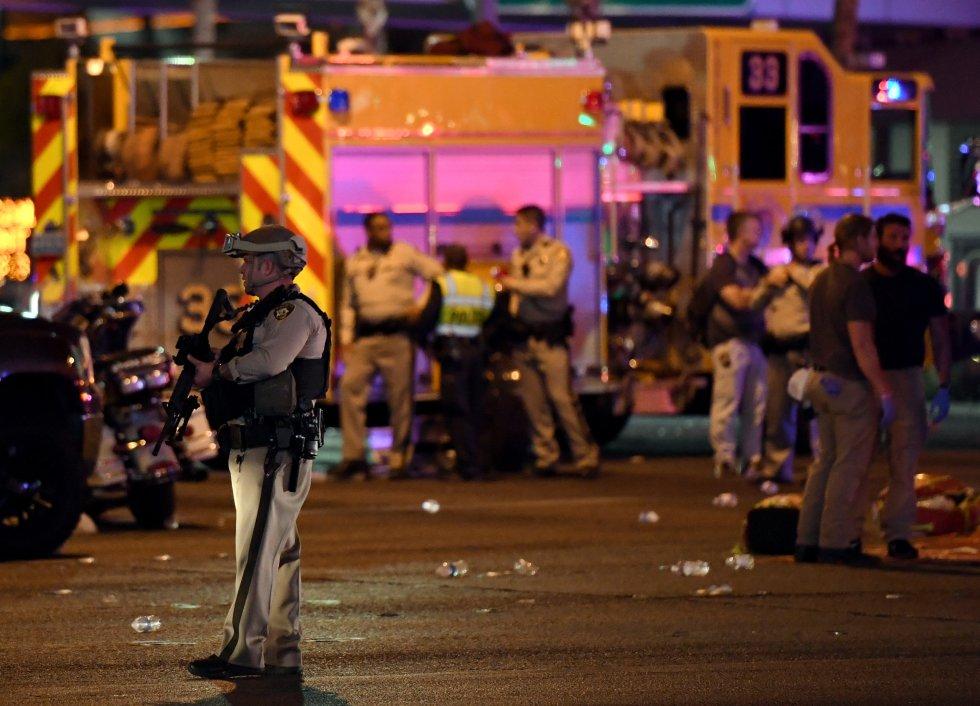 Los hechos se presentaron la noche del domingo en un concierto al aire libre en Las Vegas, Estados Unidos.