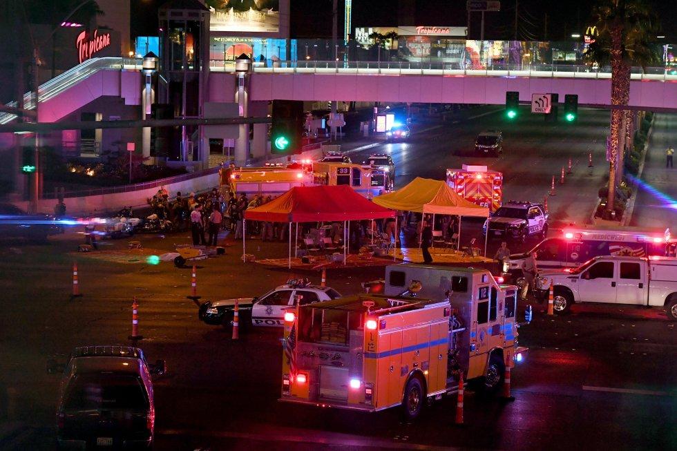La Policía busca a los responsables de haber disparado desde uno de los hoteles más conocidos de la ciudad.