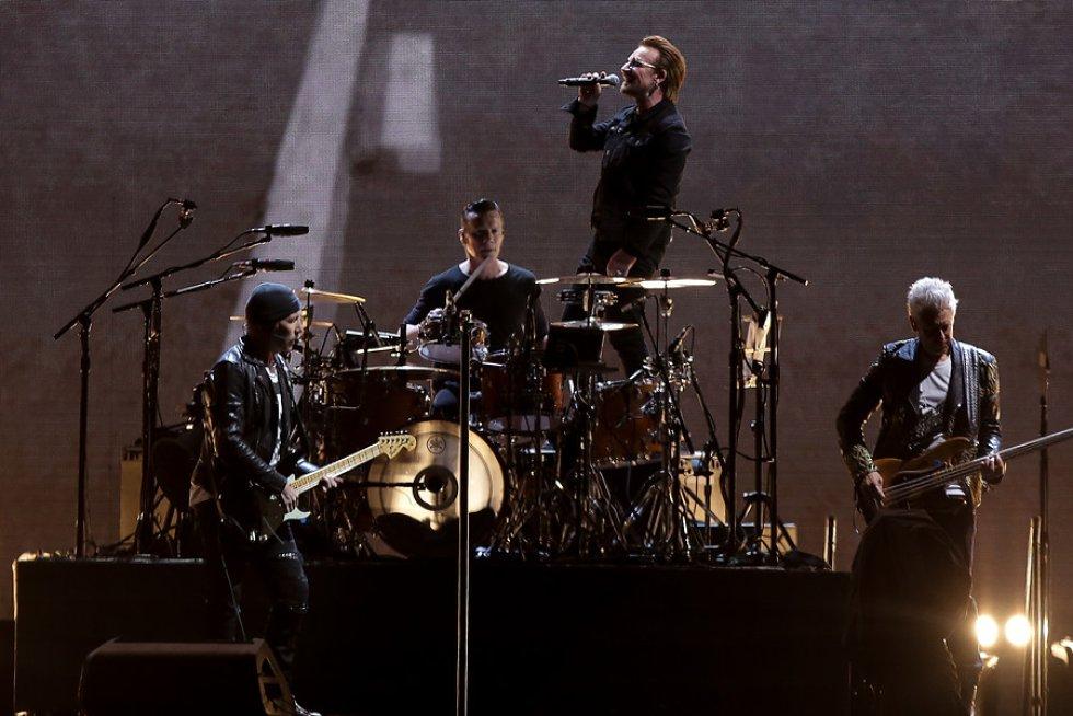 """U2 se presentó por primera vez en Colombia en el marco de su gira """"The Joshua Tree"""""""