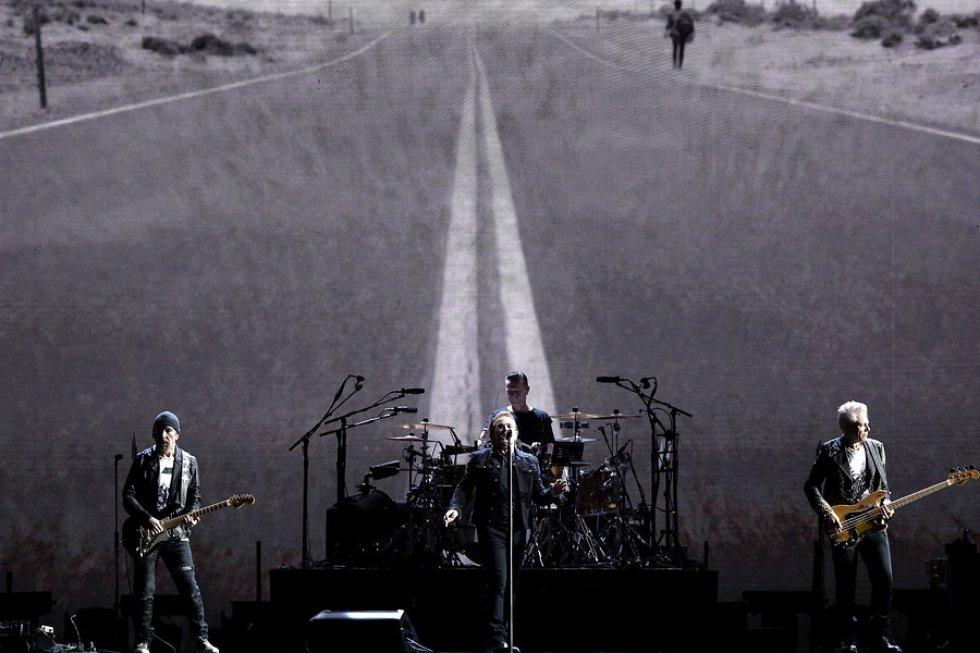 40 años son los que la banda irlandesa ha estado en la escena musical.