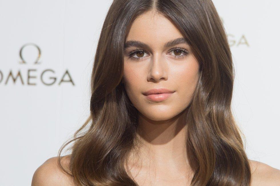 Kaia ha modelado junto a Gigi y Bella Hadid y Kendall Jenner.