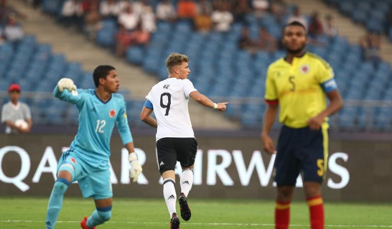 Alemania 4-0 Colombia Mundial Sub 17 Colombia eliminado: Alemania golea a Colombia y lo elimina del Mundial Sub-17 de la India