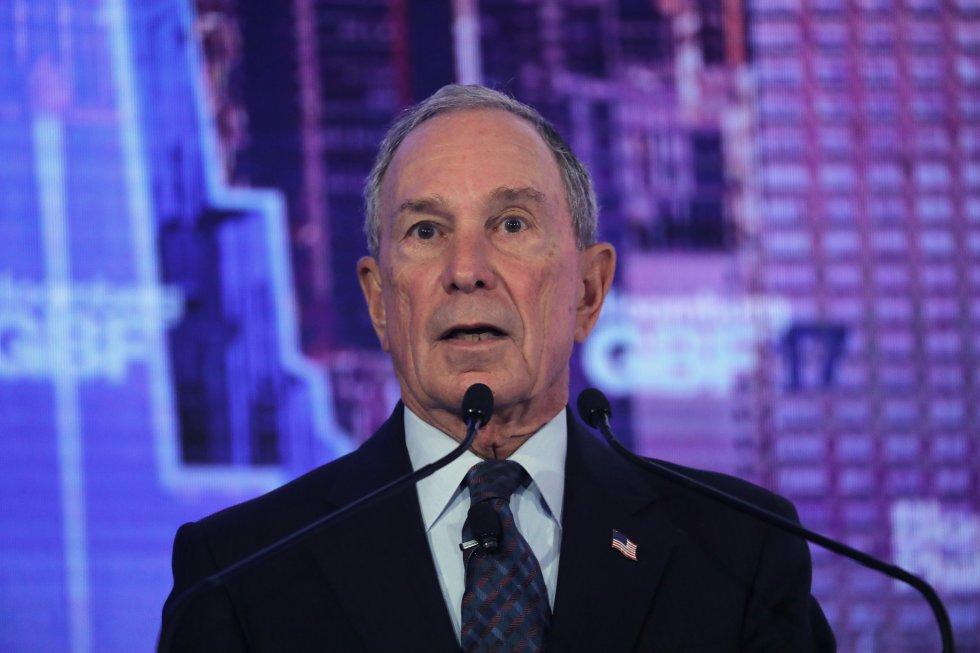 Michael Bloomberg, fundador de Bloomberg L.P., donó US$600 millones