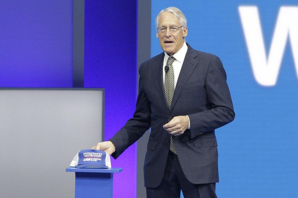 Familia Walton, hijos del fundador de la cadena Walmart, donó US$454 millones. En la foto: Rob Walton.