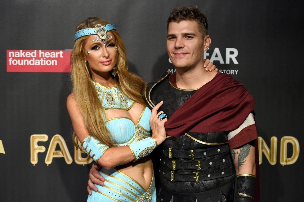 Paris Hilton quisó disfrazarse de una princesa de Disney y escogió a Yasmin.