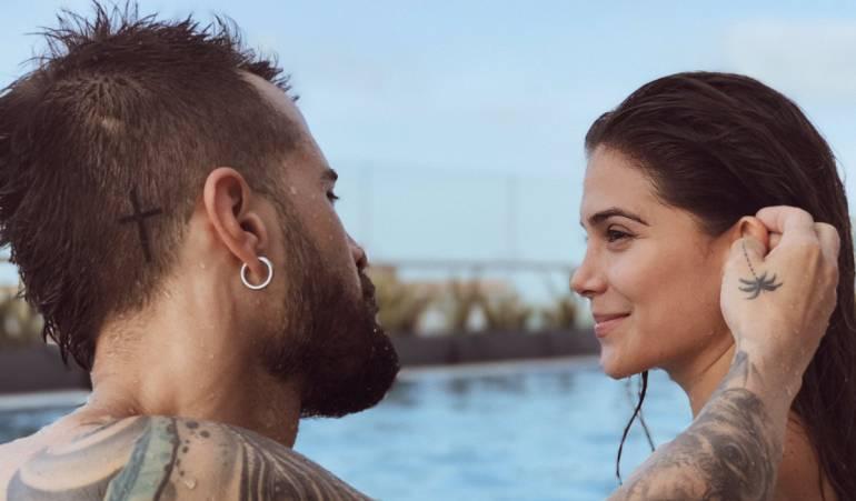 El Tatuaje Que Une A Greeicy Rendon Y Mike Bahia Entretenimiento Caracol Radio