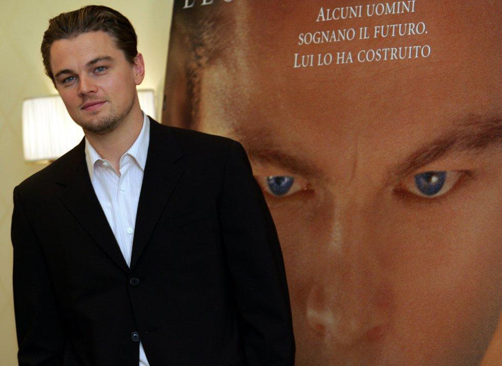 """En 2005, el ganador del Óscar protagonizó """"El Aviador""""."""