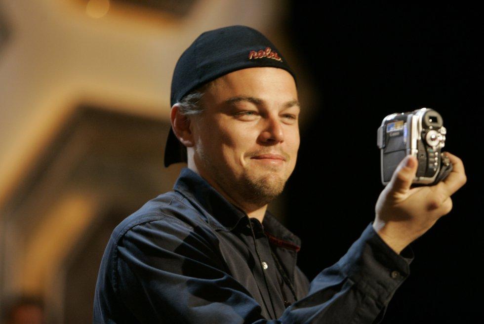 Leo durante los Premios Óscar del 2007.
