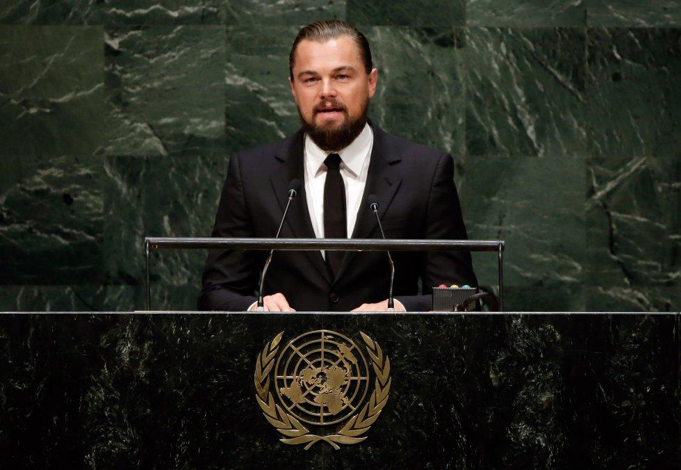 En 2014, pronunció un discurso en pro de políticas ambientales en la ONU