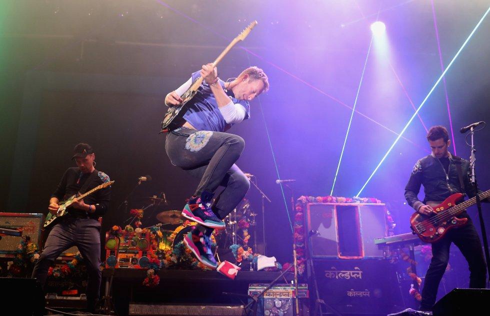 Tour del año para Coldplay. Nominados: Garth Brooks y U2.