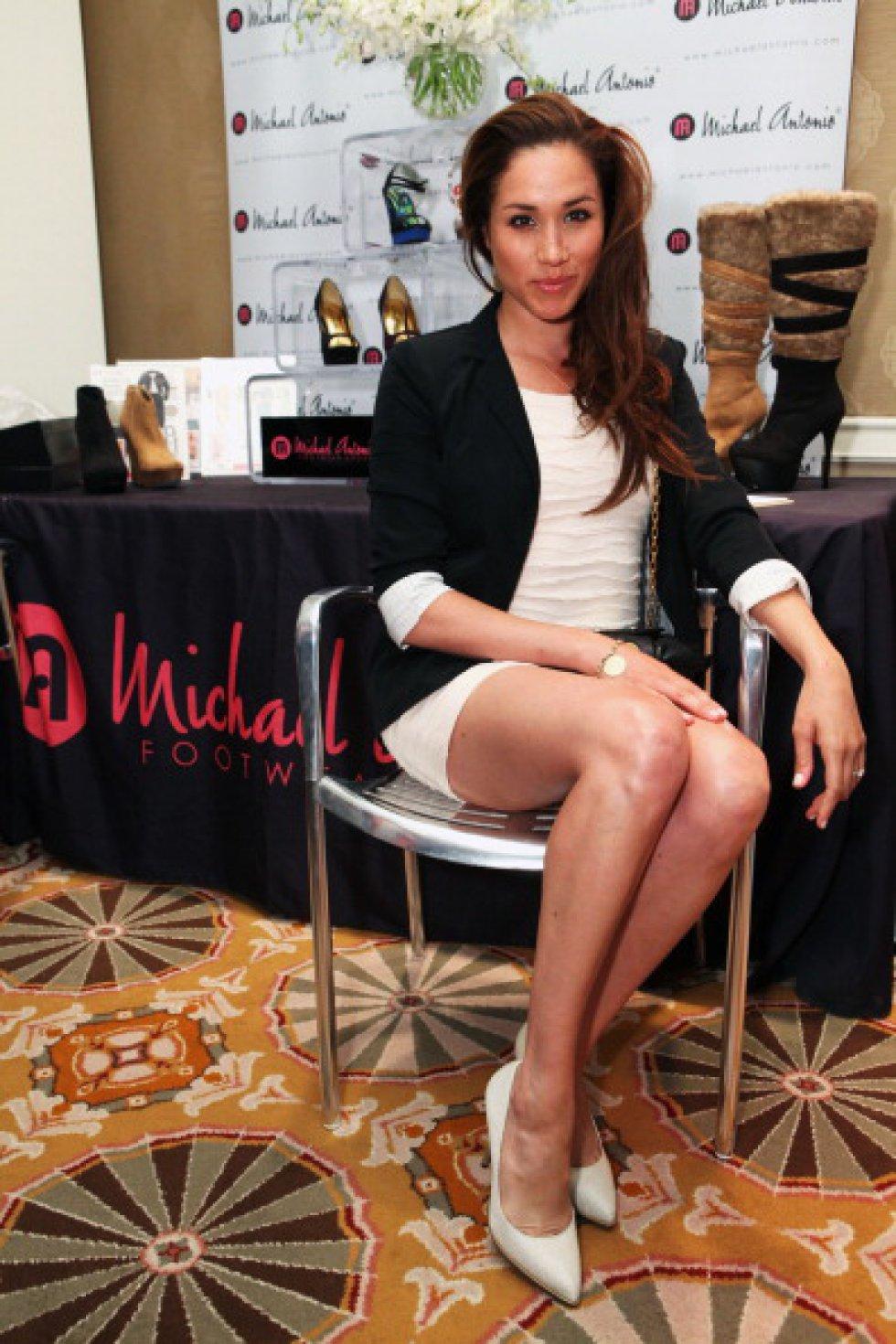 La actriz Meghan Markle asiste al 'HBO Luxury Lounge con L'Oreal Paris en Beverly Hills, California.