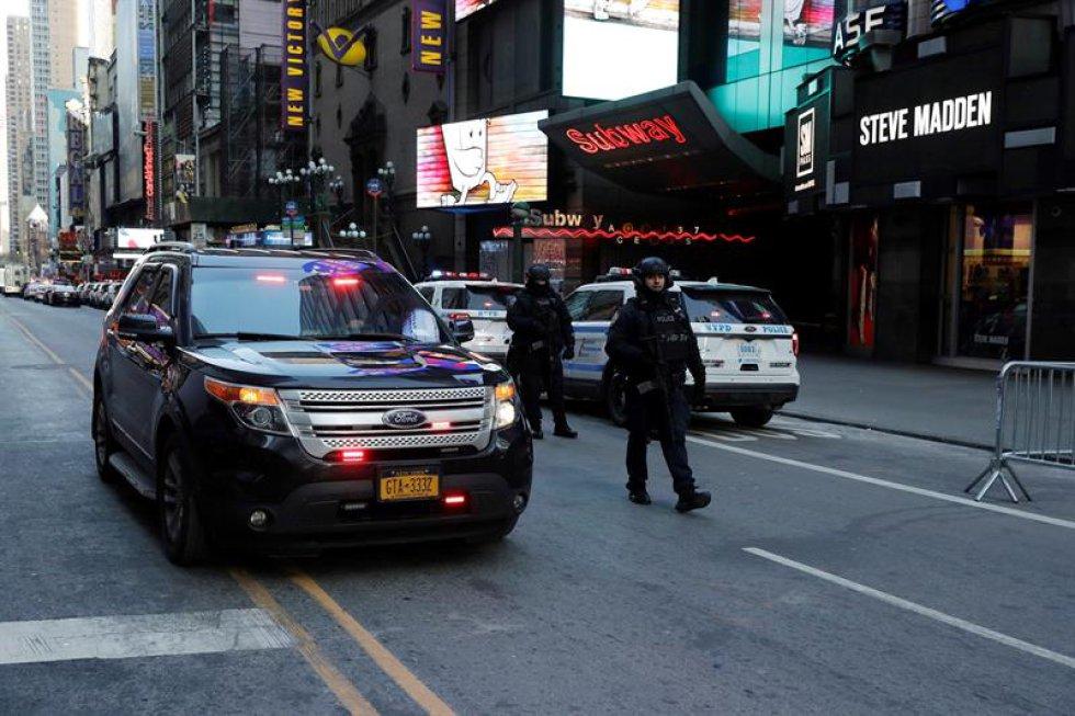 En la comparecencia ante los medios también aseguraron que no hay otras zonas de Nueva York en peligro ni más amenazas, sin embargo continuarán haciendo vigilancia en los lugares más concurridos.