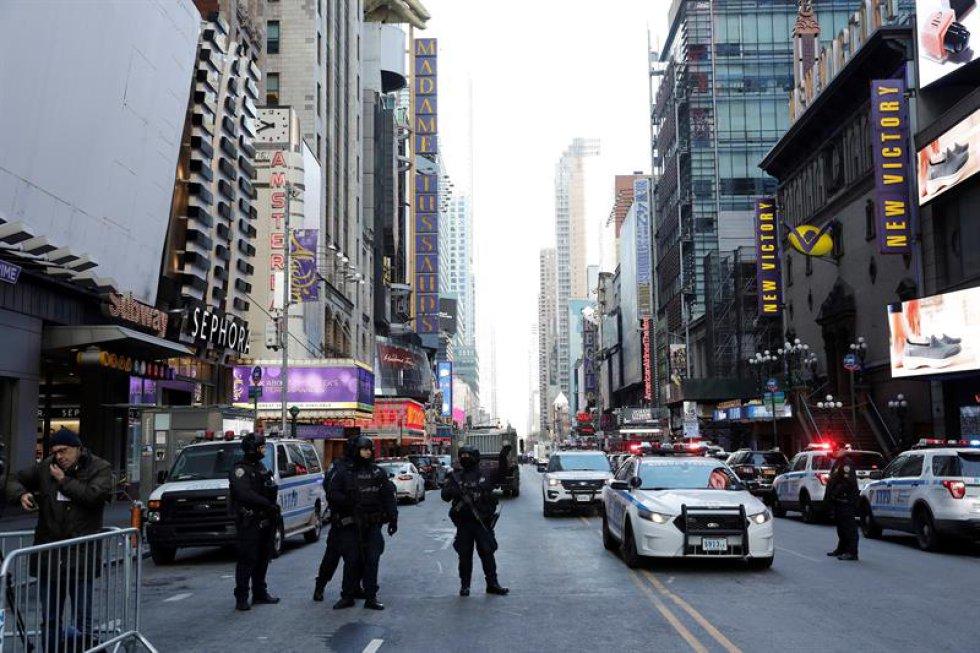 Varias zonas de ese distrito de Nueva York se encuentran cerradas mientras las autoridades hacen otras verificaciones.