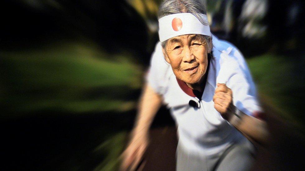 Las divertidos selfies de una abuela de 89 años