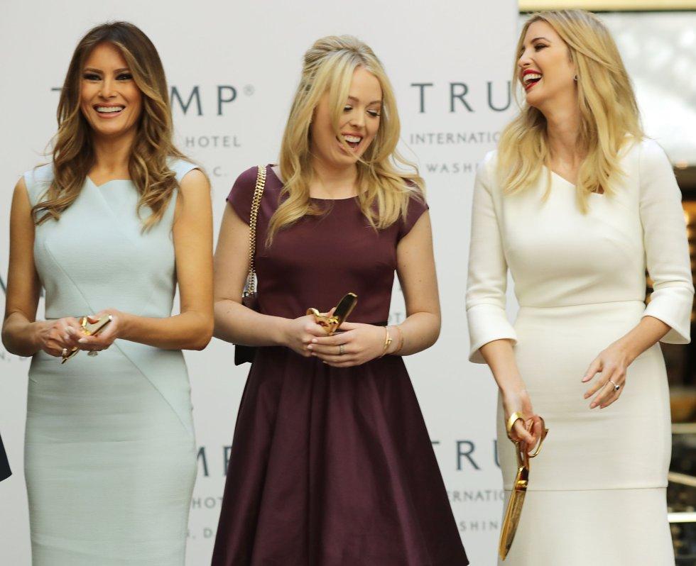Tiffany Trump es la hija menor del presidente de los Estados Unidos con apenas 24 años de edad.